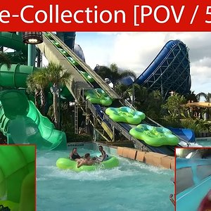 Best of Volcano Bay Water Park in Orlando / Waterslide Onride Collection [POV | 50fps] - YouTube