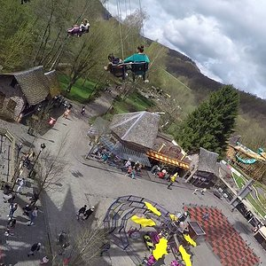 Mega Mindy Flyer (Onride) Video Plopsa Coo Stavelot 2018