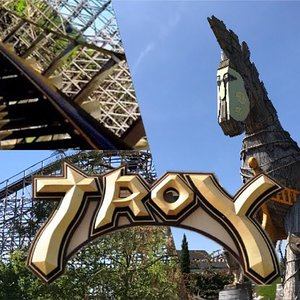 Troy - Great Coasters International (Onride) Video Toverland 2018 | Olli 2 Go