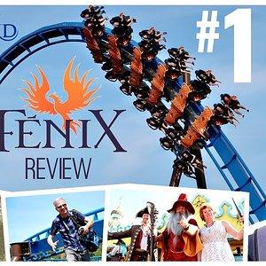 Großes Wing Coaster Opening - Fenix! | Toverland Sevenum 2018 | TagesVLOG #100