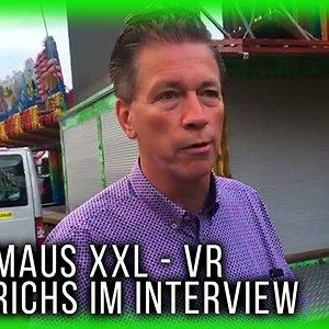 Einzige Wilde Maus XXL mit Virtual Reality - Interview mit Tim Derichs   Rheinkirmes Düsseldorf 2018