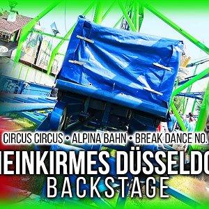 Rheinkirmes Backstage: Alpina Bahn, Circus Circus & Break Dance No. 1 in Düsseldorf   Reportage